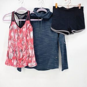 Mixed Brands Lot of 3 Active Pieces Sz XS